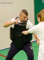 Mellkasvédő - erősített (Tréning)