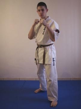Shinkyokushin Verseny Karate ruha